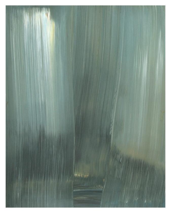 Behind / Acryl auf Karton ( Gerahmt ) / 40 cm x 50 cm / 2014
