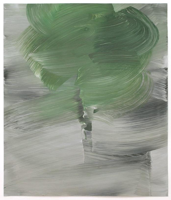 Tree / Acryl auf Karton ( Gerahmt ) / 70 cm x 80 cm / 2014