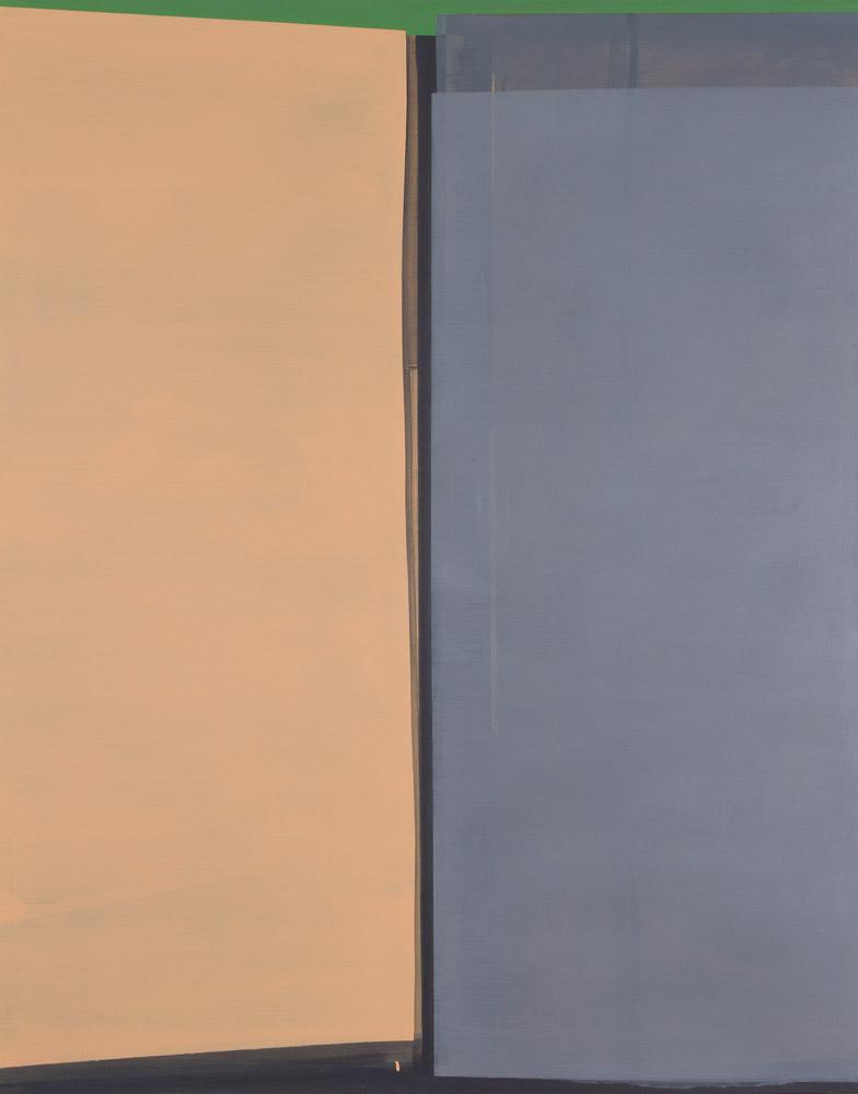 Grün / Acryl auf Leinwand / 150 x 195 cm / 2016