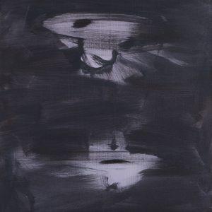 Schwerelos / Acryl auf Leinwand / 55 x 66 cm / 2016