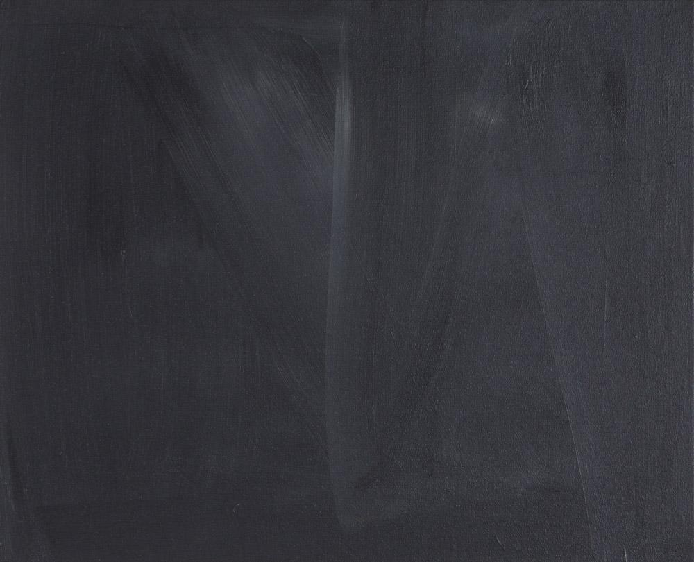 Nebenbei Gegenwart / Acryl auf Leinwand / 45 x 55 cm / 2016