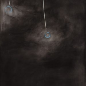 Pendelnd / Acryl auf Leinwand / 150 x 200 cm / 2016
