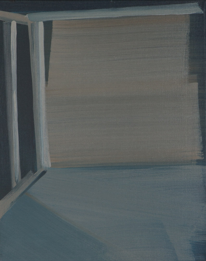 Raum / 40 x 50 cm / Acryl auf Leinwand / 2014