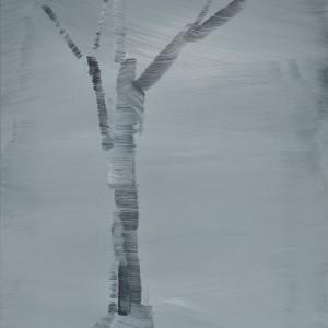 Ohne Titel / Acryl auf Leinwand / 52 cm x 63 cm / 2014