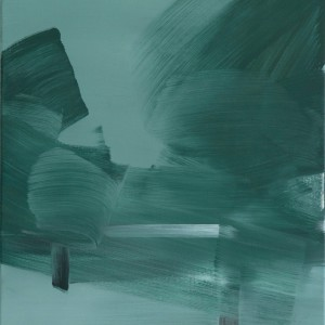 Parklandschaft / Acryl auf Leinwand / 50 cm x 60 cm / 2014