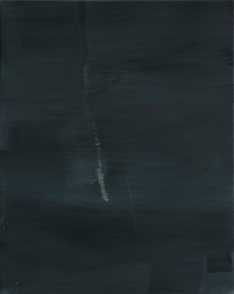 In der Nacht / Acryl auf Leinwand / 53 cm x 64 cm / 2014
