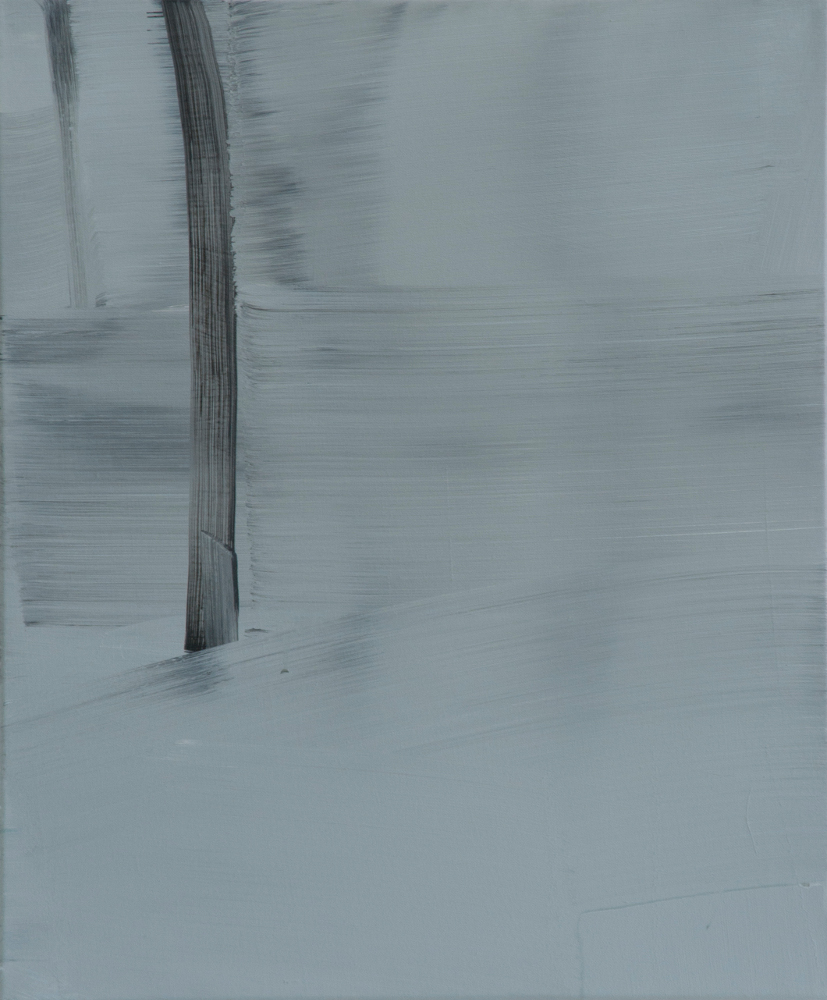 Winter / Acryl auf Leinwand / 50 cm x 60 cm / 2014