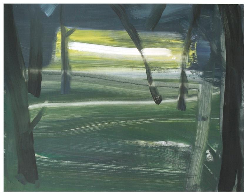 Light / Acryl auf  Karton ( Gerahmt ) / 50 cm x 60 cm / 2015