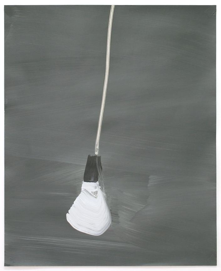 Lost / Acryl auf Karton ( Gerahmt ) / 60 cm x 70 cm / 2014