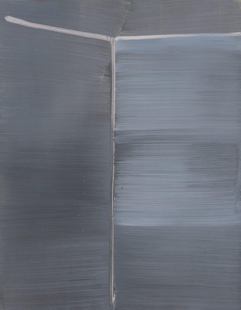 Ohne Titel / Acryl auf Karton / 40 x 50 cm / 2015