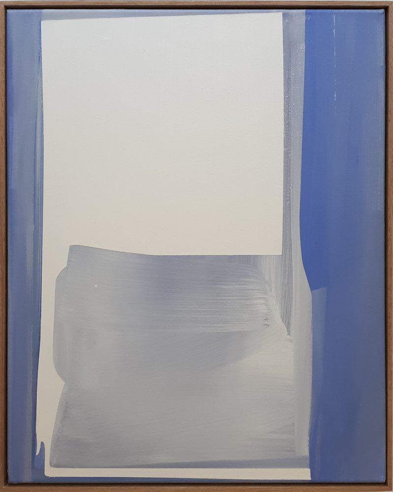 Abstrakt ( weisse Fläche ) / Acryl auf Leinwand / 2019