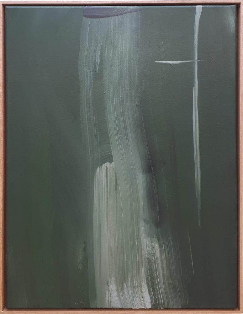 Rückkopplung / Acryl / Öl auf Leinwand / 55cm x72,5cm / 2019