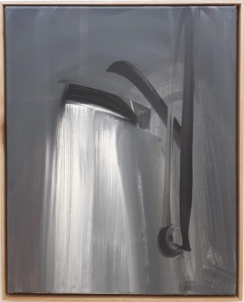 Helles Rauschen / Acryl auf Leinwand / 40 cm x 50 cm / 2017