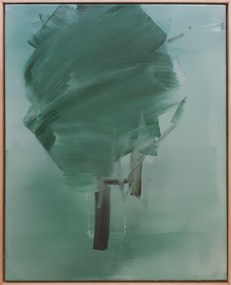 Bewegung / Acryl auf Leinwand / 50 cm x 60cm / 2014