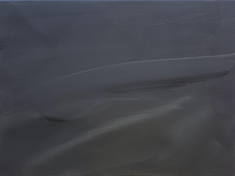 Space / Acryl / Öl auf Leinwand / 47,5cm x 62,5cm / 2019