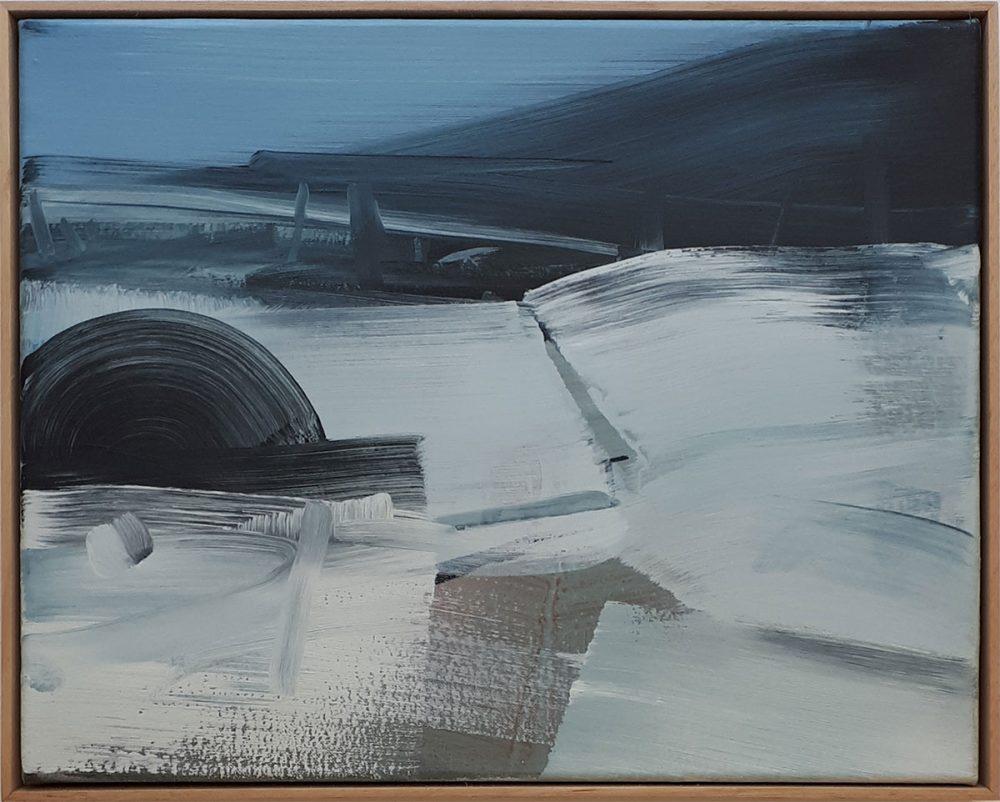 Erinnerung/ Acryl auf Leinwand/ 40cm x 50cm/ 2014